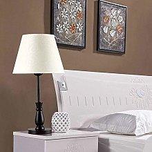 HY-WWK Retro Simple Table Lamp, Elegant Bedroom