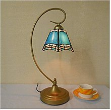 HY-WWK Small Size Glass Desk Lamp,Handmade Table