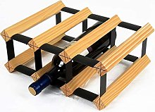 HY-WWK Wine Rack Solid Wood Wine Rack Decoration