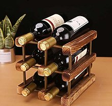 HY-WWK Wood Wine Rack Decoration Wine Cabinet Home