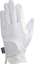 Hy5 Adults Synthetic Leather Riding Gloves (XL)