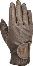 Hy5 Children/Kids Leather Riding Gloves (L) (Light