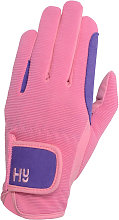 Hy5 Childrens/Kids Two Tone Riding Gloves (L)