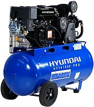 HY70100P Petrol Driven Air Compressor - Hyundai