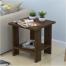 HYCy Coffee Table Wood Small Coffee Table Desk