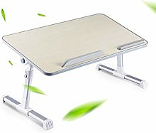 HYDL Laptop Bed Tray Table, Foldable Lap Desk