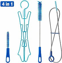 Hydration Bladder Tube Brush Cleaning Kit, 4 in 1