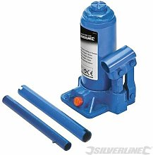 Hydraulic Bottle Jack 4 Tonne 245113 - Silverline