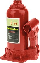 Hydraulic bottle jack of 5 Tm - Primematik