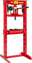 Hydraulic press 12 t - red