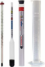 Hydrometer for Home Brew with Thermometer and