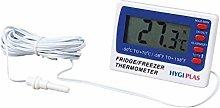 Hygiplas Digital Fridge/Freezer Thermometer