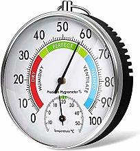 Hygrometer Thermometer 10cm Dial Type Barometer