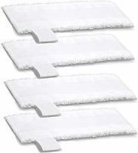 HYJ 4X EasyFix Floor Cloths, Microfibre Steam