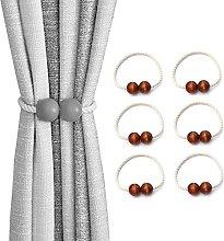 HYJBGGH Curtain Tie Backs,Magnetic Curtain