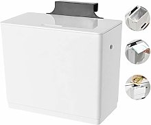 HYJBGGH Wastebaskets Hanging Small Trash Can With