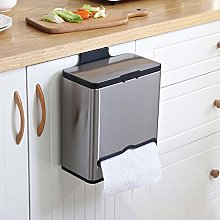 HYJBGGH Wastebaskets Kitchen Hanging Trash Can,