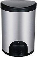 HYJBGGH Wastebaskets Trash Can Desktop, Stainless