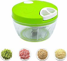 HYLK Manual Food Chopper, Compact And Powerful