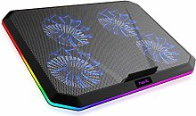 HYLL RGB Laptop Cooling Pad for 12-17 Inch Laptop