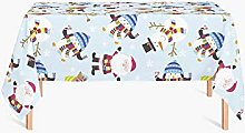 HYO Christmas Tablecloth 140x180 cm multicoloured