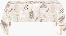 HYO Christmas Tablecloth 145x240cm multicoloured