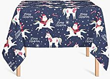HYO Christmas Tablecloth 90 x 90 cm multicoloured