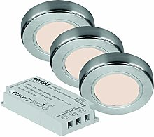 Hype - Recessed/Surface Under Cabinet 3 Light Kit