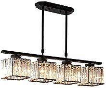 HYPPT Modern Round Crystal Chandelier,Gold Luxury