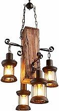 HYQJUNE Retro Pendant Lamp, Industrial Loft Bar