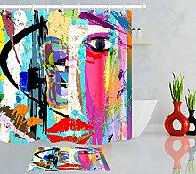 HYTCV Personality design colorful street art