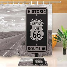 HYTCV US historic Route 66 Digital printing