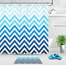 HYTCV Waterproof fabric gradient stripe pattern