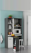 Hyttan Kitchen Display Cabinet In White And