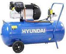 Hyundai HY30100V 14CFM, 3HP, 100 Litre V Twin