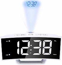 HYwot FM Radio Alarm Clock, LED Digital Electronic