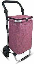 HYY-YY Lightweight Shopping Cart 40L