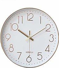 HZDHCLH 30 cm Silent Radio Wall Clock Digital