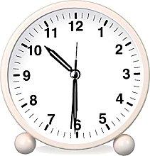 HZDHCLH Alarm clocks Bedside Non Ticking Battery