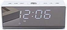 HZDHCLH Digital Alarm Clock for Bedroom ,Mirror
