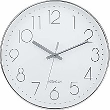 HZDHCLH Silent Non-Ticking Wall Clock 30 cm Modern