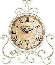 HZDHCLH Table Clocks 11Inch Height Roman Retro