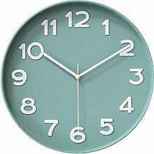 Hzdhclh Wall Clock, 30 cm Quiet Non-Ticking Clock