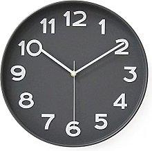 HZDHCLH Wall Clock Silent Non Ticking - 12 Inch