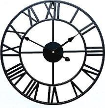 HZDHCLH Wall Clocks 16 Inch Silent Roman Retro