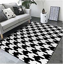 HZLGFX Bedroom Bedside Decorative Carpets,