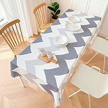 Hzonder Kitchen Coffee Tablecloth Rectangular