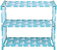 Hztyyier 3 Tiers Shoe Rack Easy Assembled