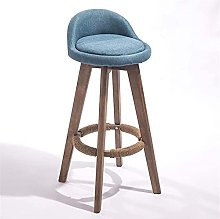 HZYDD Bar Stool Decorative stool Cafe Swivel