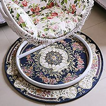 HZYDD chair European Traditional Round Area Rug,